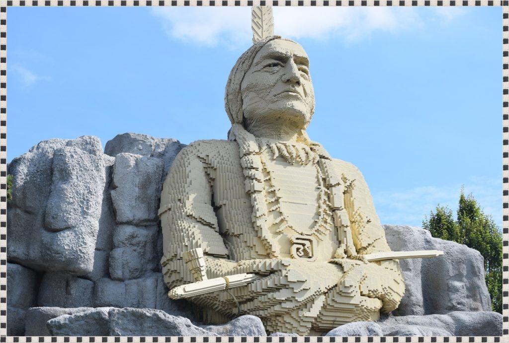 Indianin w Legoland