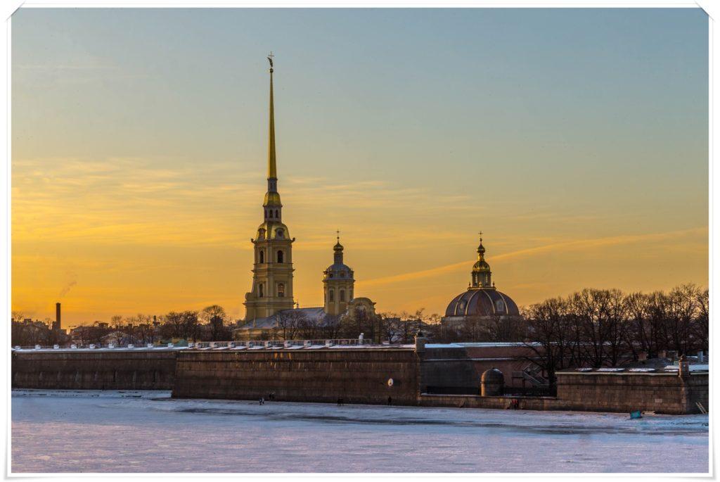 Sankt Petersburg, Twierdza Pietropawłowska
