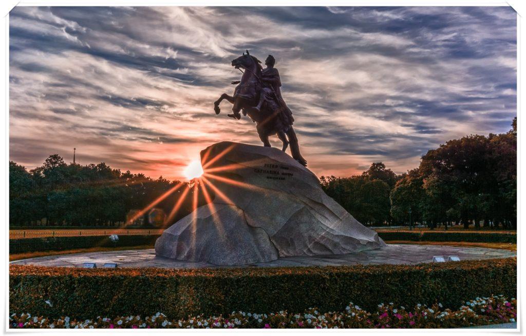 Pomnik cara Piotra I, Jeździec Miedziany