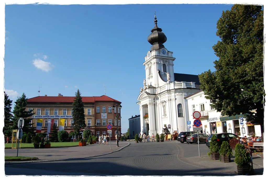 Rynek w Wadowicach